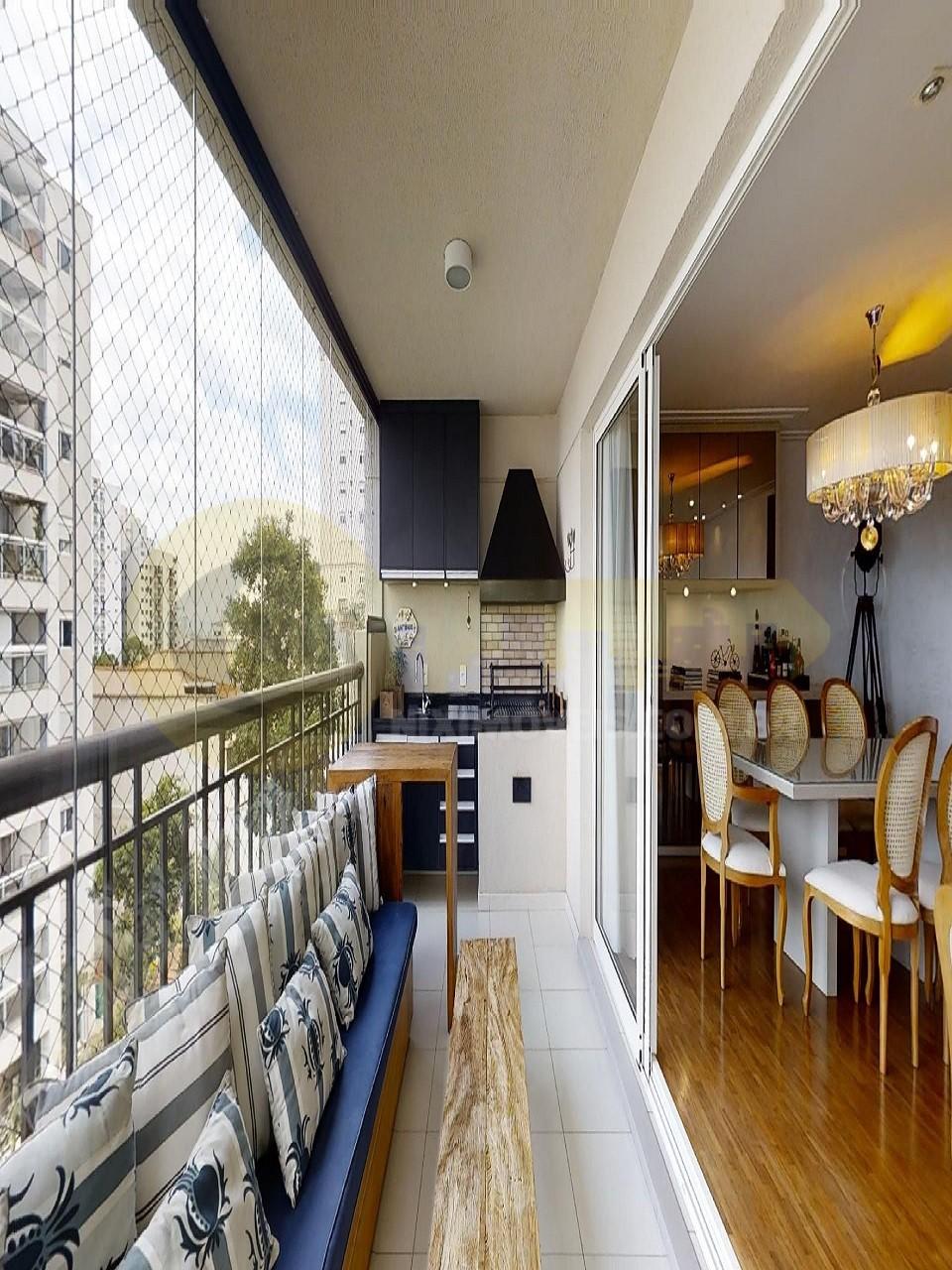 Apartamento Alto de Pinheiros Venda salas integradas, terraço gourmet vista privilegiada. 3 suítes. 3 vagas. Condomínio seguro com piscina aquecida!